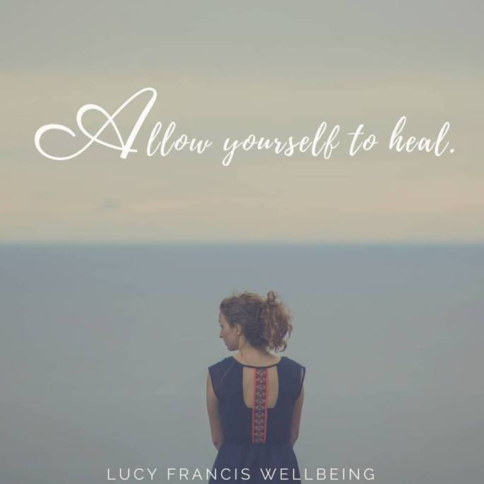 Allow yourself to heal